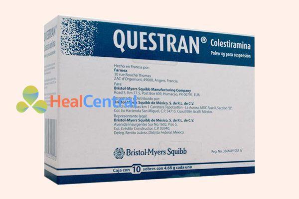 Thuốc Questran 4g