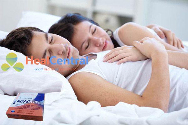 Thuốc Adagrin 50mg dành cho nam giới yếu sinh lý