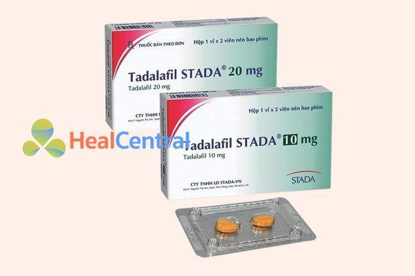 Thuốc Tadalafil STADA có nhiều hàm lượng