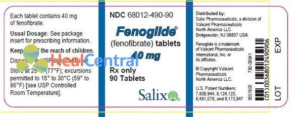Thuốc Fenoglide