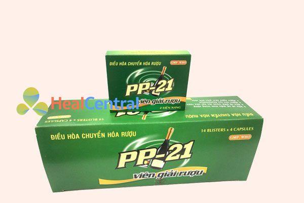 Hộp thuốc giải rượu PP 21