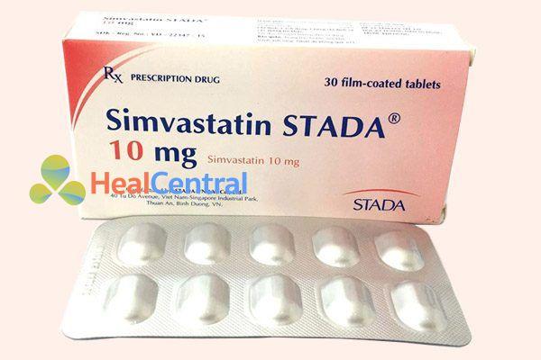 Thuốc Simvastatin STADA