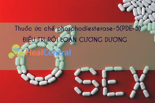 Thuốc ức chế phosphodiesterase-5(PDE-5)