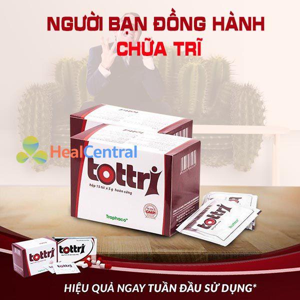 Thuốc Tottri điều trị bệnh trĩ hiệu quả và an toàn với sức khỏe