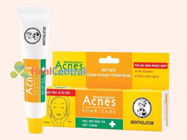 Kem trị sẹo Acnes Scar Care giúp làm mờ nhanh chóng các vết sẹo