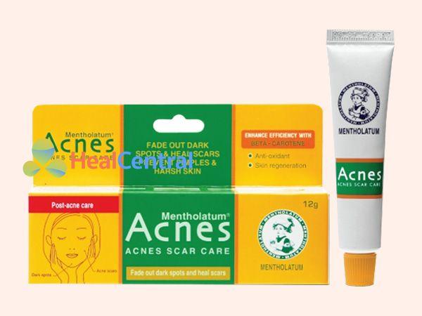 Sản phẩm Acnes Scar Care đem lại làn da sạch mụn thâm