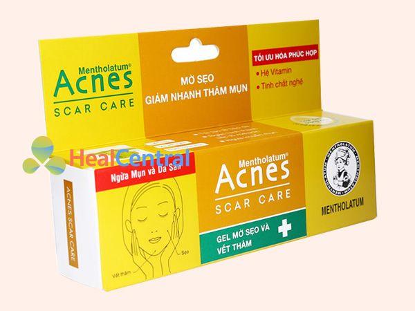 Mỗi tuýp Acnes Scar Care có 12g kem bôi