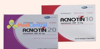 Thuốc Acnotin trị mụn chính hãng
