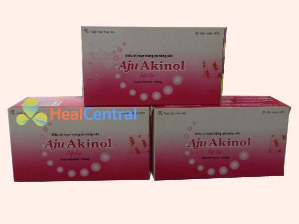 Thuốc trị mụn Aju Akinol - điều trị mụn trứng cá