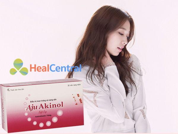 Thuốc trị mụn Aju Akinol - điều trị dứt điểm tình trạng mụn