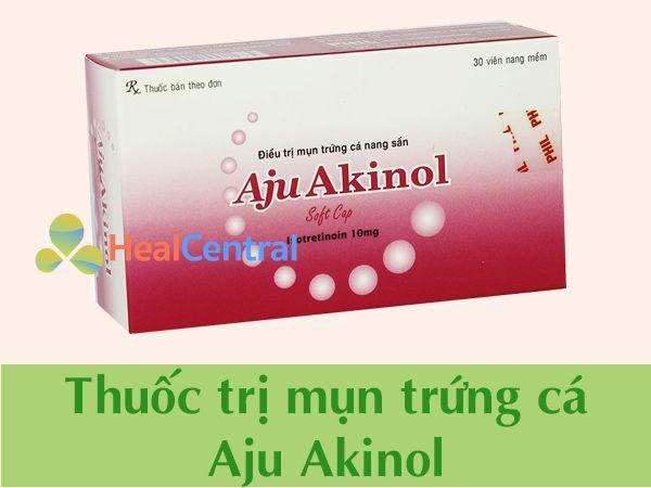 Thuốc trị mụn Aju Akinol chính hãng