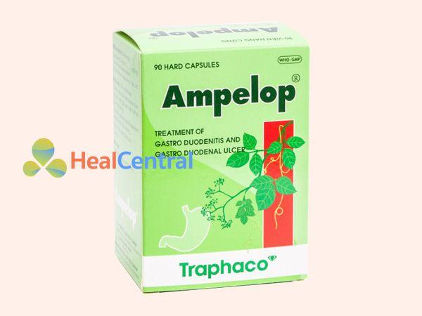 Hình ảnh hộp thuốc Ampelop