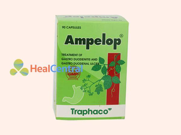 Thuốc Ampelop giúp điều trị viêm loét dạ dày