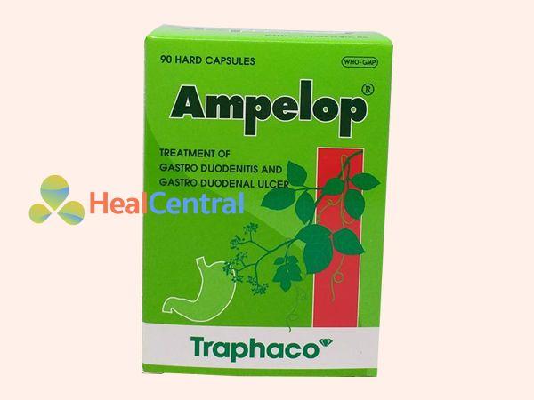 Thuốc Ampelop được bào chế dưới dạng viên nang cứng