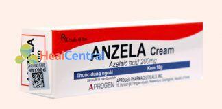 Thuốc trị mụn Anzela Cream