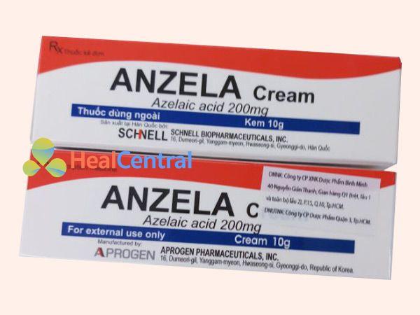 Hình ảnh sản phẩm kem trị mụn Anzela Cream