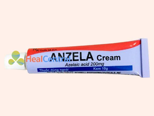 Hình ảnh tuýp kem trị sẹo Anzela Cream