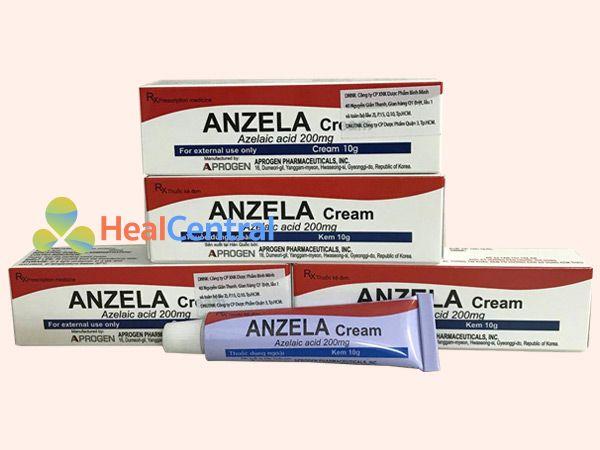 Kem trị sẹo Anzela Cream chính hãng
