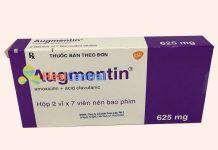 Thuốc Augmentin có sự kết hợp của Acid clavulanic và Amoxicillin