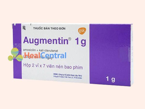 Thuốc Augmentin thích hợp điều trị nhiễm khuẩn kỵ khí
