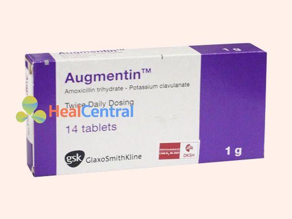 Hình ảnh hộp thuốc Augmentin
