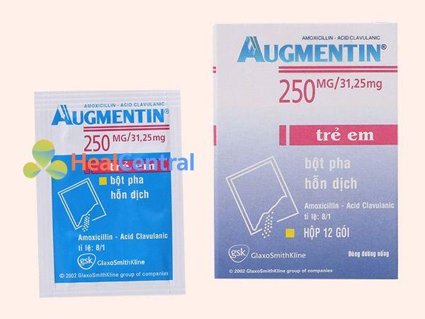 Hình ảnh Thuốc Augmentin dùng cho trẻ em