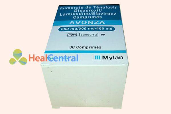 Hộp thuốc Avonza