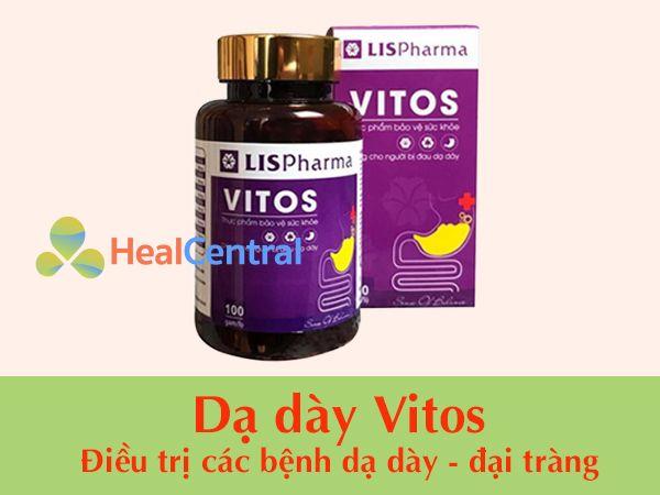 Thuốc điều trị đau dạ dày Vitos