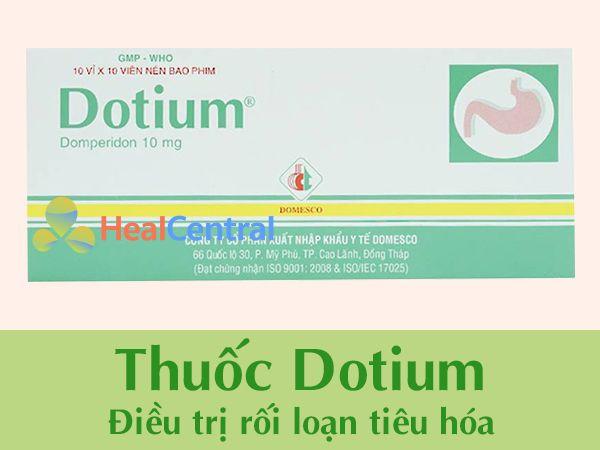 Thuốc Dotium chính hãng