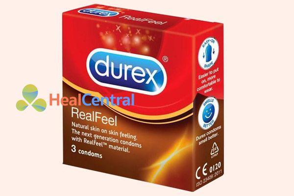 Bao cao su Durex Real Feel
