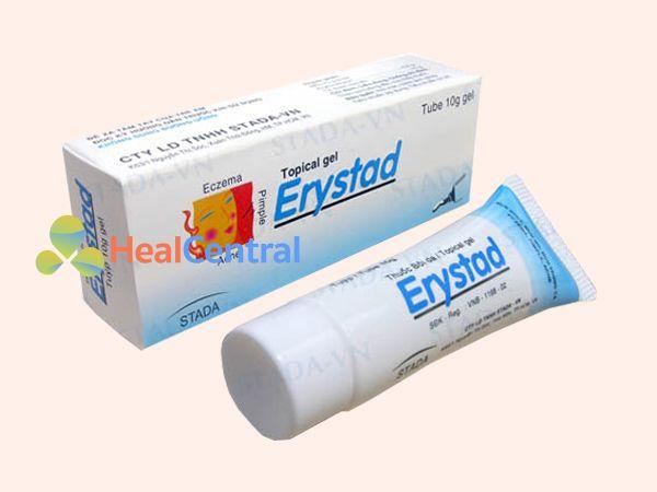 Hình ảnh kem trị mụn Erystad