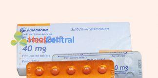 Hình ảnh hộp thuốc Famogast 40mg