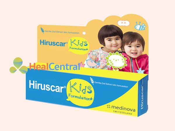 Sản phẩm kem trị sẹo Hiruscar Kids