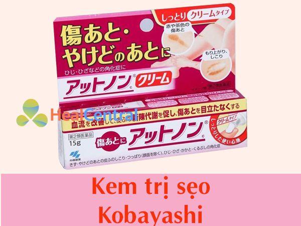 Kem trị sẹo Kobayashi chính hãng