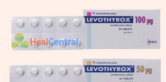 Thuốc Levothyrox 50 mcg và Levothyrox 100 mcg