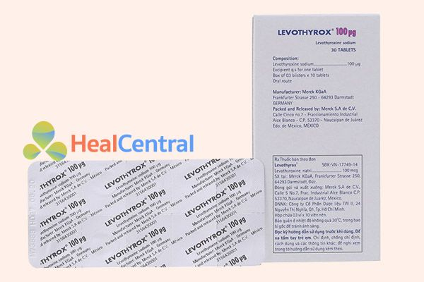 Thành phần thuốc Levothyrox 100μg