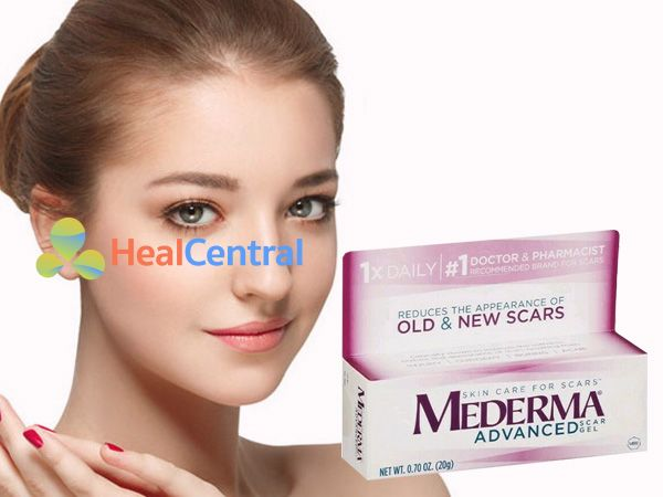 Kem trị sẹo Mederma - đánh bay mọi vết sẹo