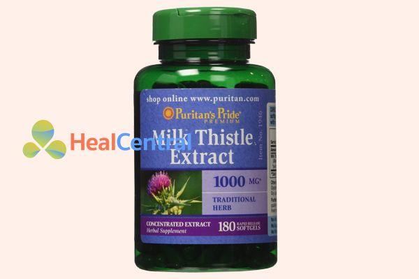 Milk Thistle Extractgiúp giải độc gan, mát gan, tăng cường hệ miễn dịch