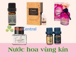 Top sản phẩm nước hoa vùng kín