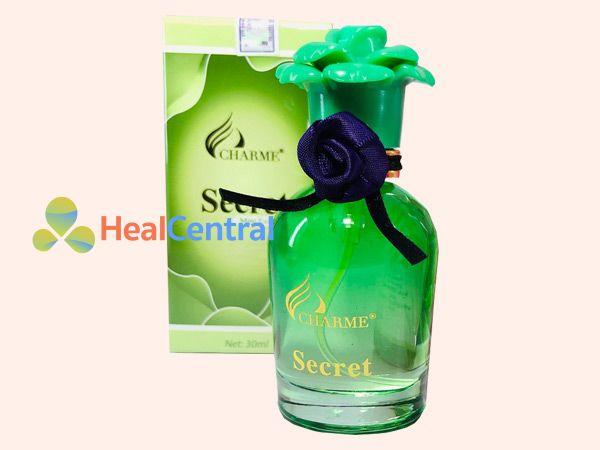 Nước hoa vùng kín Charme Secret lọ màu xanh