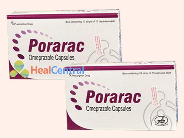 Thuốc Porarac có chứa hoạt chất Omeprazole