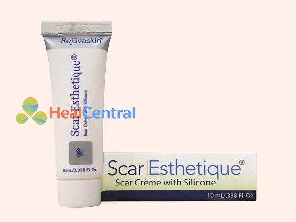 Kem trị sẹo Scar Esthetique 10ml được sản xuất tại Hoa Kỳ