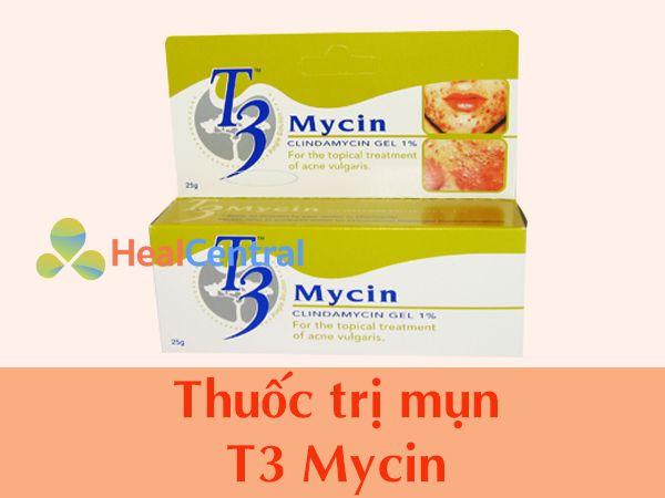 Thuốc trị mụn T3 Mycin