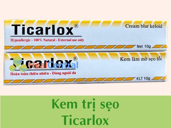 Kem trị sẹoTicarlox chính hãng