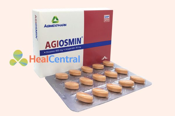 Thuốc uống trị trĩ Agiosmin