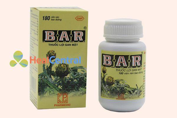Thuốc giải độc gan Bar
