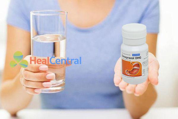 Cách dùng thuốc Omeprazol DHG 20mg