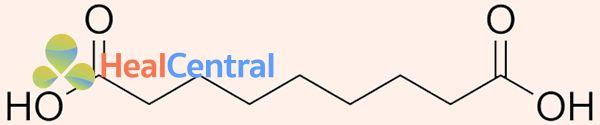 Cấu trúc hóa học của Azelaic acid
