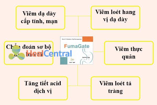 Chỉ định của thuốc Fumagate