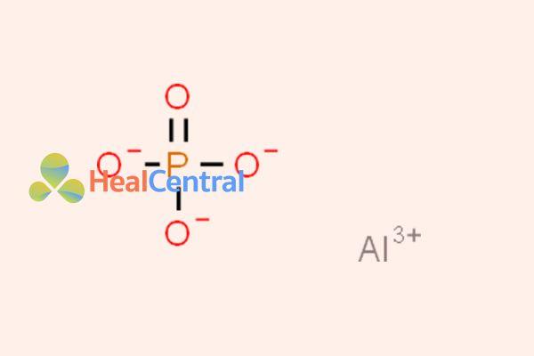 Công thức hóa học của Aluminum Phosphate